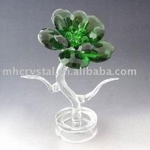 crystal flower, crystal ornament MH-7070