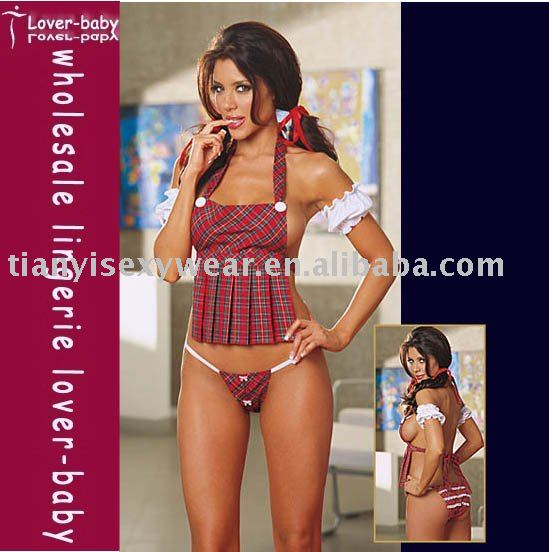 virginal Sexy Adult Lingerie school girl style