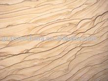 Wooden wave sandstone