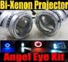 H1/H7 HID Bi-xenon Projector Lens Light (Angel Eye)