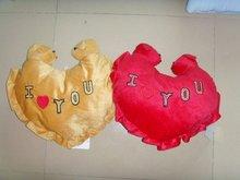 heart-shape cushion with good quality