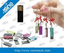 Revolvable Mini USB Flash Drive, Free Logo Laser Engraving