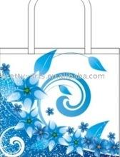 2010 Blue fashion non-woven bags