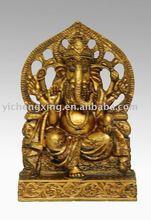 polyresin india elephant