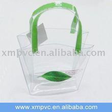 Vinyl promotional shopping bag