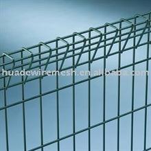 Roll top fencing, powder coated mesh panel , vinyl coated yard guard