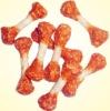 premium pet food dumbell bone