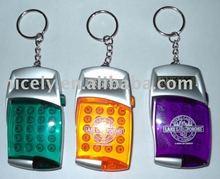 mini electronic calculator with key ring pocket calculator