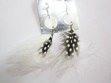 wholesale 20*76MM shell feather eardrop
