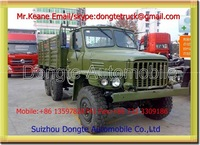 3.2 tons 6*6 truck mounted crane(military use)