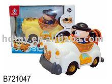 B/O cartoon car w/light&music toys
