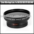 52 mm de gran angular lente para Nikon D40 D50 D60 D70 D80 d40x, Yha-hg021