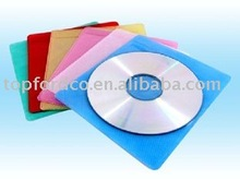 silver ptinting blank disc with PP bag