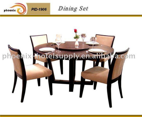 Restaurant furniture view set