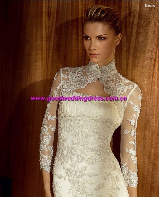 Bolero Jacket Wedding Dresses
