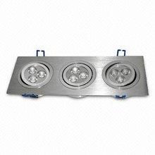 Cree High power COB LED square downlight 9W