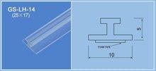 plastic hang strip /label holder
