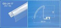 transparency pvc date strip / label holder
