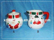 Ceramic candy bowl / cream pitcher