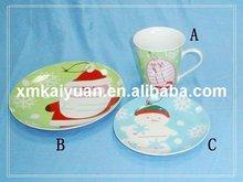 Porcelain dinner set/plate and mug