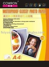 waterproof glossy photo paper