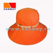 Ladie's Orange Floppy Fashion Hat HWH-1006063