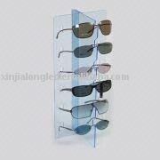 stylish acrylic sunglass holder