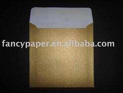 Pearlescent Envelope (pocket envelope, gold pearlescent,peel and seal)