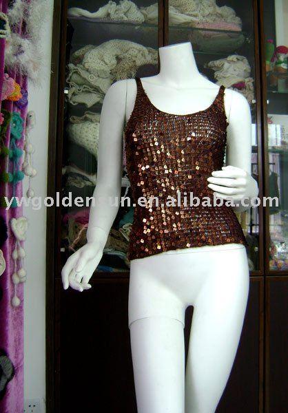 A granel de la mano de ganchillo suéter patrón de ropa para damas (1113)