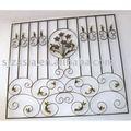 Cerca de la ventana/tragaluz de guardia/guardia ventana con accesorios de hierro forjado