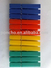 plastic or wood different design clothespin/clamp