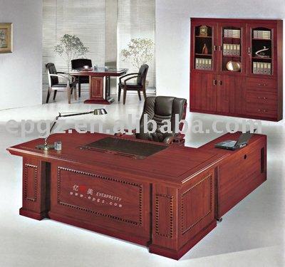 Modular mesa / escritorio, Muebles de oficina, De madera escritorio ejecutivo