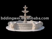 beautiful stone garden fountain