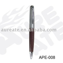 PU leather pen set for gift