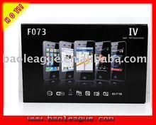 Unlocked 4G Cell Phones F073 WIFI GPS Mobile Phone Quad-band Dual Sim TV Worldmap