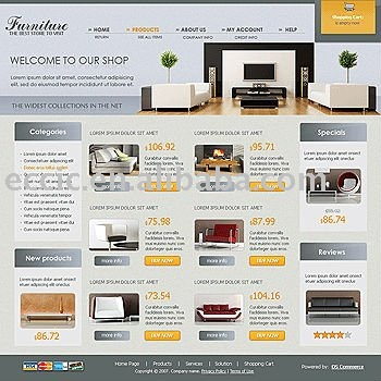 best ecommerce websites best furniture websites design