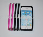 Double coloR silicon case for IPHONE4G