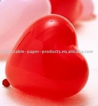100 PC 12INCH Latex Heart Balloons
