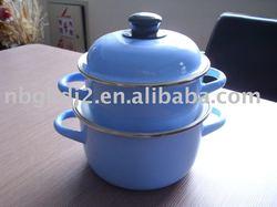 the enamel cookware set