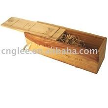 vodka wood chest