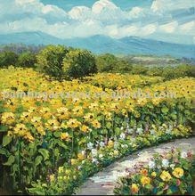 knife oil painting landscape