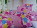 100% de algodón impreso conjuntos de ropa de cama