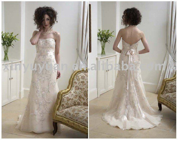 2011 vintage design plus size wedding dresses ETW031