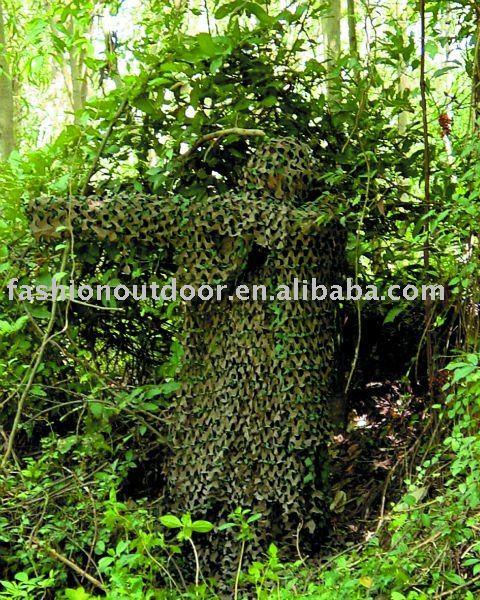 Camuflaje Ghillie Suit ( militar de camuflaje del ejército fuente de alimentación )