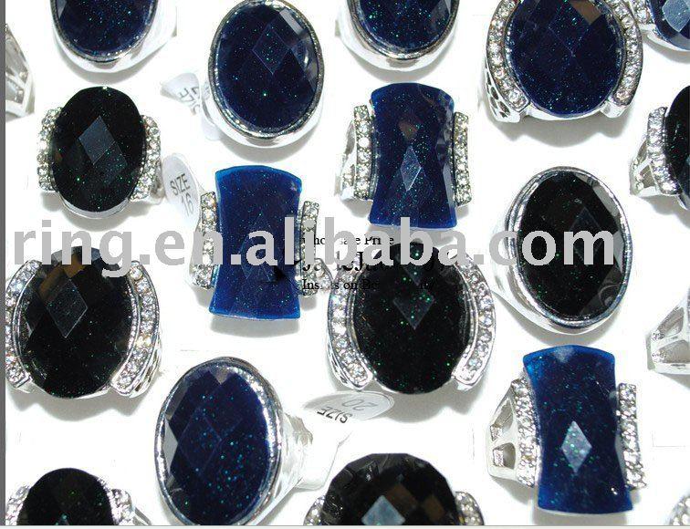 crystal wedding rings