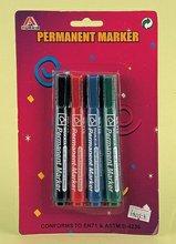 4PC PERMANENT MARKER PEN