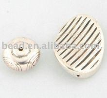 metelized plastic bead