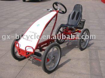 One Person 4-Wheel Bike