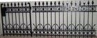 ornamental custom iron fence designs