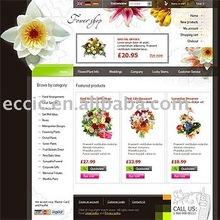 Affordable Flower E-commerce Website Development